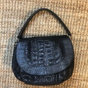Versace Python Biker Bag
